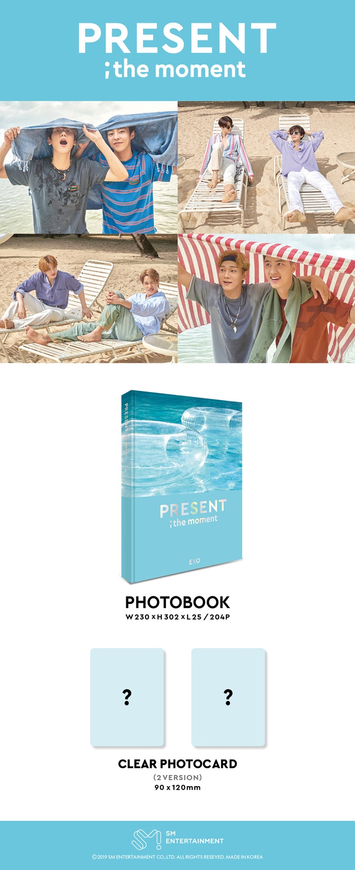 Photobook EXO - Present:The moment