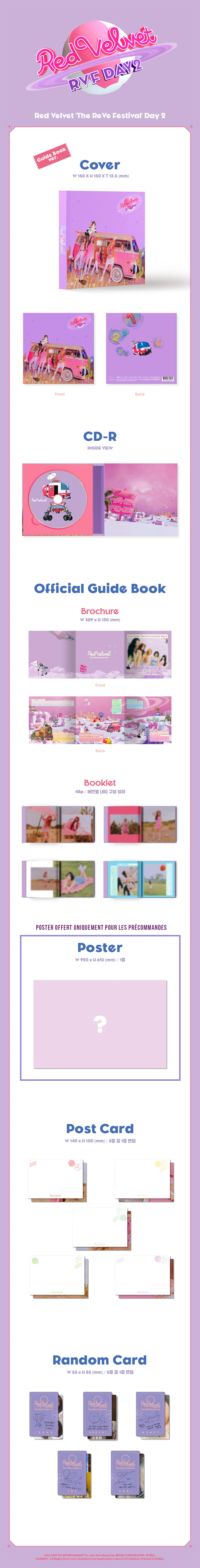 Visuel Red Velvet Guide book 2