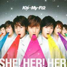 Kis-My-Ft2 - SHE! HER! HER! [A] - CD+DVD [EDITION LIMITEE]