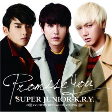 SUPER JUNIOR K.R.Y - Promise You - CD+DVD [EDITION LIMITEE]