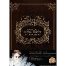 XIA / Junsu (JYJ) - 2012 Ballad & Musical Concert with Orchestra - 3DVD+Book