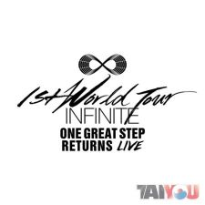 INFINITE - One Great Step Returns Live Album (2CD)