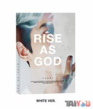 TVXQ! - RISE AS GOD - Special Album [CHANGMIN / WHITE VERSION]