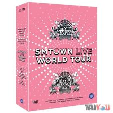 SM Town - Live World Tour in Seoul [5DVD+Photobook]