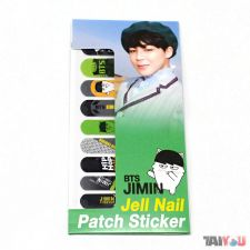 Stickers pour ongles - Jimin (BTS) [03]