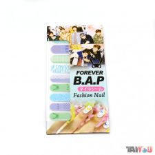 Stickers pour ongles - B.A.P [07]
