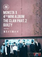 MONSTA X - The Clan 2.5 Part.2 GUILTY [GUILTY Ver.] - Mini Album Vol. 4