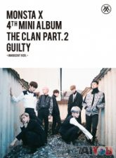 MONSTA X - The Clan 2.5 Part.2 GUILTY [INNOCENT] - Mini Album Vol. 4