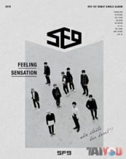 SF9 - Feeling Sensation - 1st Debut Album