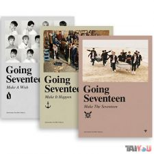 SEVENTEEN - Going Seventeen - 3rd Mini Album [3 Versions]