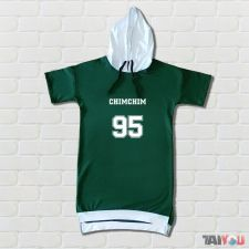 Sweat bicolore - chimchim 'Jimin' (BTS) [BK-04]