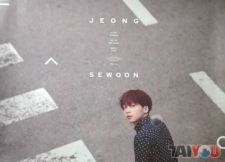 Poster officiel - Jeong Sewoon - EVER [Vers.B]