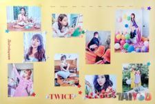 Poster officiel - TWICE - TWICEtagram [Vers.B]