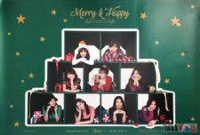 Poster officiel - TWICE - Merry & Happy [Ver. MERRY]
