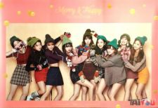 Poster officiel - TWICE - Merry & Happy [Ver. HAPPY]