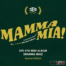 SF9 - Mamma Mia - Mini Album Vol.4 [EDITION LIMITEE]
