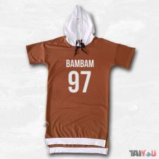 Sweat bicolore - Bambam (GOT7) [BM-08]
