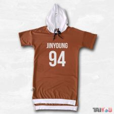 Sweat bicolore - Jinyoung (GOT7) [BM-13]