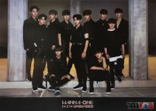 Poster officiel - WANNA ONE - 1÷Χ=1 (Undivided) - WANNA ONE Version
