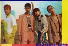 Poster officiel - SHINee - The Story of Light Ep.1 - Version B