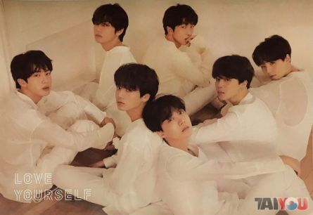 Poster officiel - BTS - Love Yourself - Tear [Vers.U]
