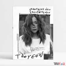 Taeyeon (GIRLS' GENERATION) - Something New - Mini Album Vol. 3