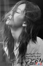 Poster officiel - TAEYEON (GIRLS' GENERATION) - Something New