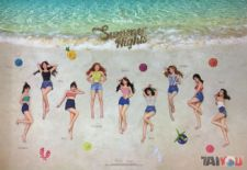 Poster officiel - TWICE - Summer Nights - B Version