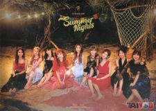 Poster officiel - TWICE - Summer Nights - C Version