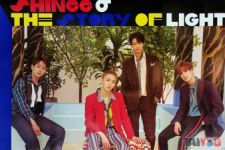 Poster officiel - SHINee - The Story of Light Epilogue