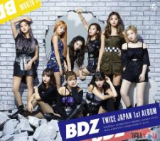 TWICE - BDZ - Japan 1st Album [Limited Edition - Ver.B]