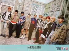 Poster officiel - WANNA ONE - 1¹¹=1 (Power Of Destiny) - Version A