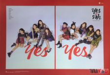 Poster officiel - TWICE - Yes or Yes - Version A