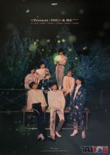Poster officiel - GOT7 - Present You & Me - Version A