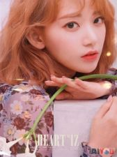 Poster officiel - IZ*ONE - Heart*IZ - Miyawaki Sakura