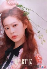 Poster officiel - IZ*ONE - Heart*IZ - Kim Minju