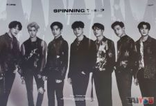 Poster officiel - GOT7 - Spinning Top - Version B