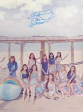 Poster officiel - WJSN (Cosmic Girls) - FOR THE SUMMER - Version A