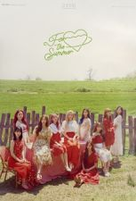 Poster officiel - WJSN (Cosmic Girls) - FOR THE SUMMER - Version B