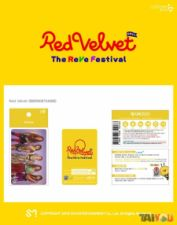 Carte de transport - Red Velvet
