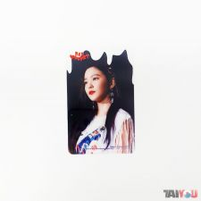 Carte transparente - Irene (Red Velvet) [A-019]