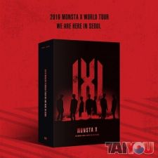 2019 Monsta X World Tour - WE ARE HERE in Seoul (3DVD)