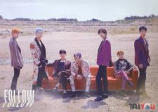 Poster officiel - MONSTA X - Follow-Find You - Version C