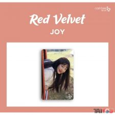 Carte de transport - Joy (Red Velvet)