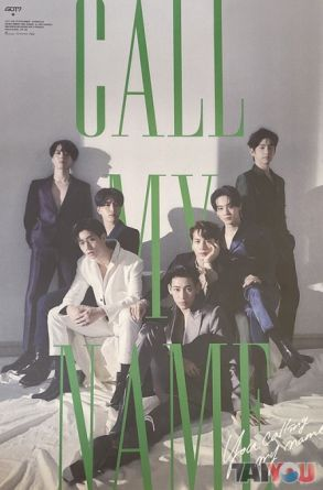 Poster officiel - GOT7 - Call My Name - Version D