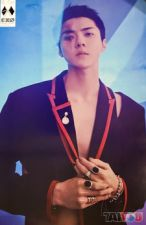 Poster officiel - EXO - OBSESSION - Sehun