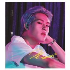 MONSTA X - All About Luv (Full Art - Joohoney - Standard Casemade Book 3)