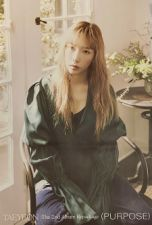 Poster Officiel - TAEYEON (GIRLS' GENERATION) Purpose - Version B