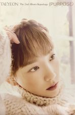 Poster Officiel - TAEYEON (GIRLS' GENERATION) Purpose - Version C