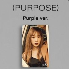 Carte de transport - TAEYEON (GIRLS' GENERATION) - Purple Ver.